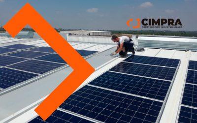 Energía solar en edificios industrializados